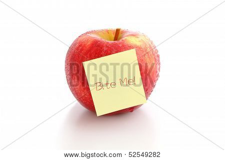 Red Apple With