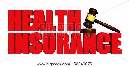 Health Insurance with Gavel