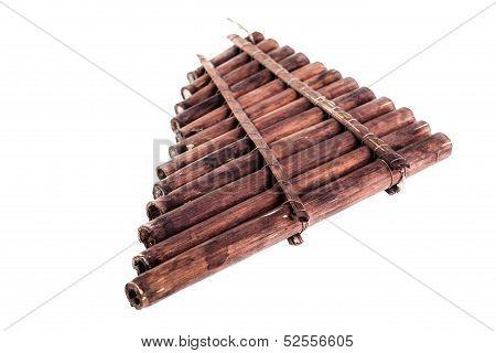 Wooden Pan Flute