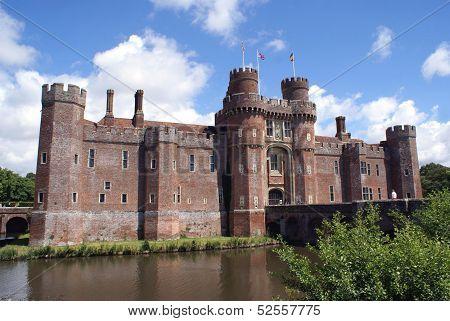 Herstmonceux Castle, Hailsham, East Sussex, England