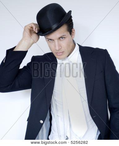 Man Wear Bowler