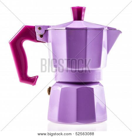 Lilac Coffe Pot