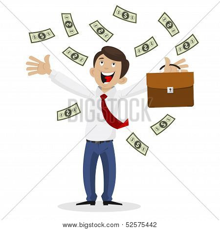 Businessman got huge amount of money