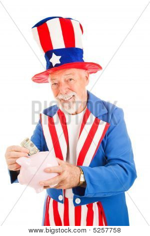 Uncle Sam - Us Savings Plan