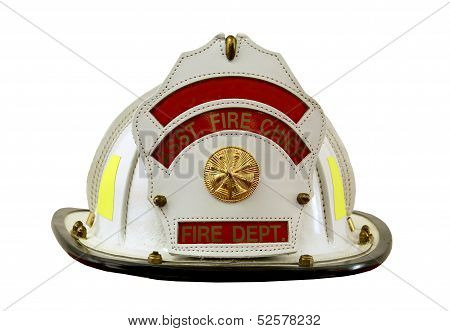 Fireman's Helmet Isolated