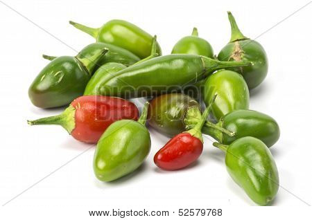 Heap of chilis