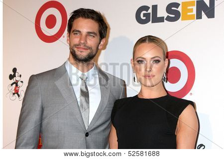 LOS ANGELES - OCT 18:  Brant Daugherty, Peta Murgatroyd at the 2013 GLSEN Awards at Beverly Hills Hotel on October 18, 2013 in Beverly Hills, CA
