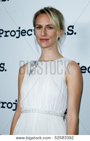 NEW YORK- OCT 17: Actress Mickey Sumner attends the Project A.L.S. 15th Anniversary benefit at Roseland Ballroom on October 17, 2013 in New York City.
