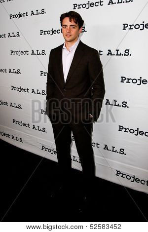 NEW YORK- OCT 17: Actor Vincent Piazza attends the Project A.L.S. 15th Anniversary benefit at Roseland Ballroom on October 17, 2013 in New York City.