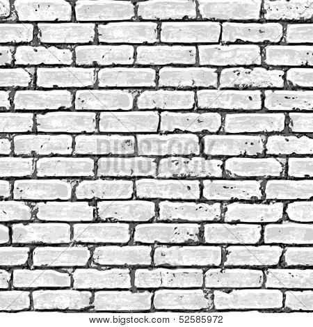 Brick wall seamless pattern.