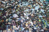image of talisman  - Buddhist amulets at Talisman Market in Bangkok Thailand  - JPG
