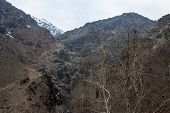 stock photo of tehran  - Alborz mountains in northern Iran - JPG