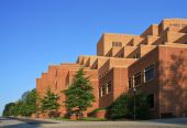 stock photo of knoxville tennessee  - University of Tennessee campus Knoxville Hodges Library - JPG