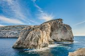 picture of gozo  - Fungus Rock colloquially known as the General - JPG
