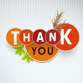 stock photo of indian apple  - Thank You sticker - JPG
