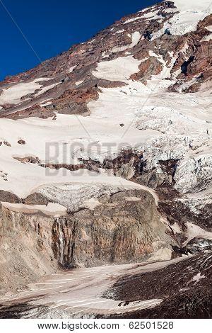 Icy Mount Rainier