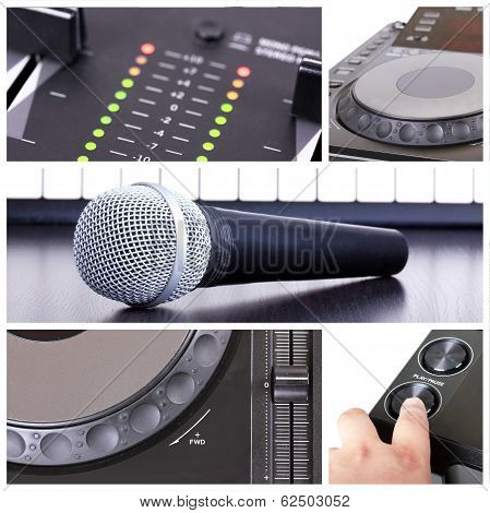 Dj Tools Collage