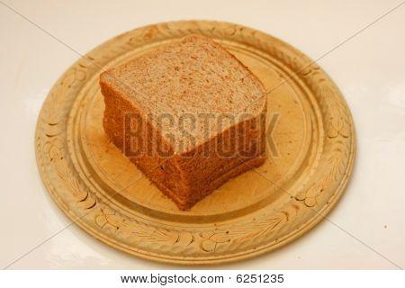 bread on board.