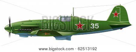 Military Soviet aircraft