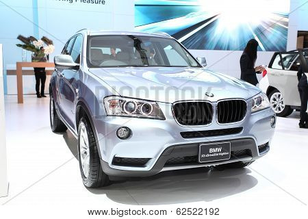 Nonthaburi - March 25: Bmw X3 Sdrive20I Highline Car On Display At The 35Th Bangkok International Mo
