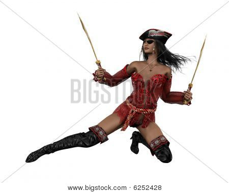 Pirate Woman - 1