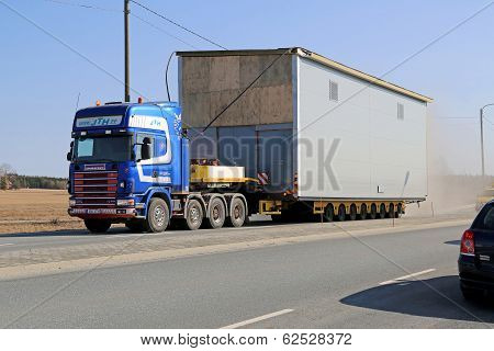 Oversize Load On The Road