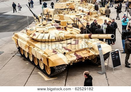 Military technics exposition