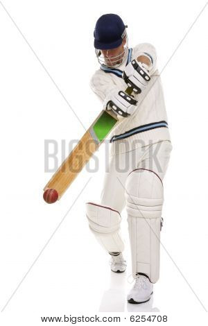 Cricketer Playing Ashot
