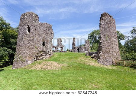 Narberth Castle Ruins