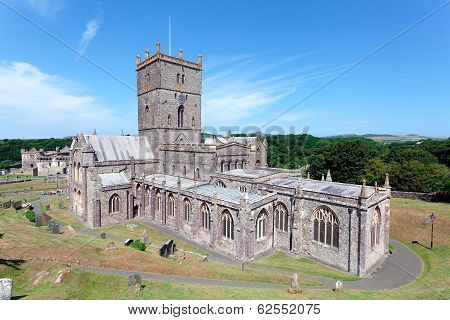 St. Davids Cathedral, Pembrokeshire, Wales