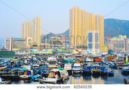 District Aberdeen In Hong Kong