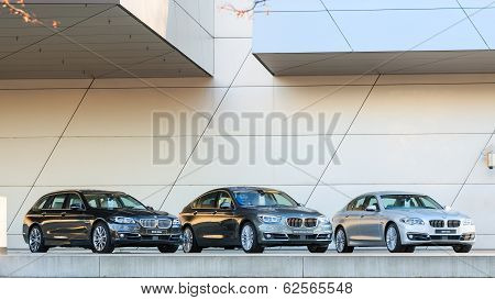New Entire Model Line Of Powerful Bmw 535 Family And Business Classes