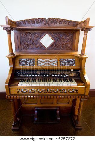 Old Church Organ