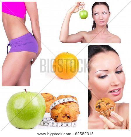 Diet Choice Collage