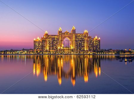 Atlantis hotel in Palm Jumeirah Dubai