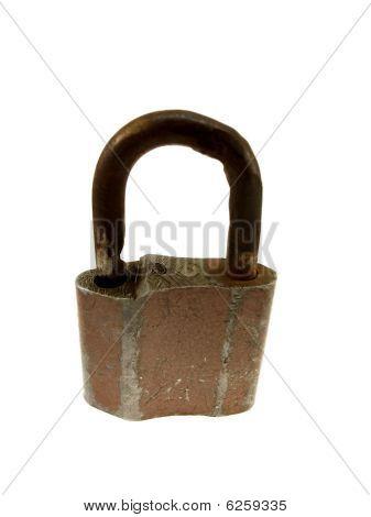 The Old Peeled Hinged Lock