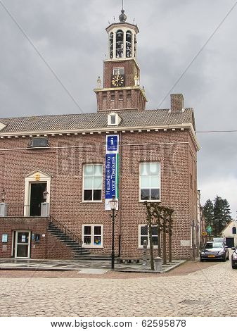 Town Hall In The Dutch Town Of Heusden. Netherlands