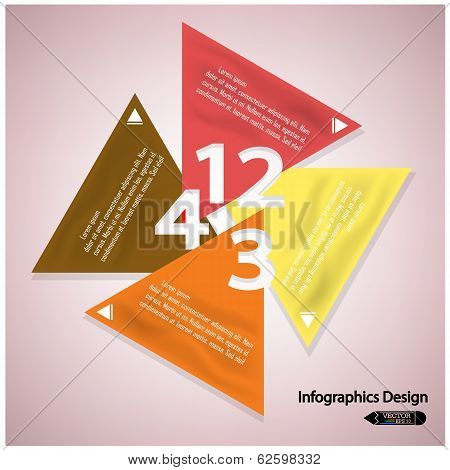Modern Colorful Infographics Options Banner.