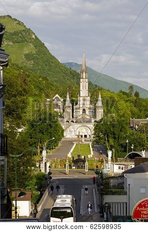 The Basilica Of Our Lady At Lourdes