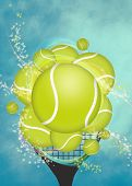 Tennis Background