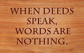 picture of deed  - When deeds speak - JPG