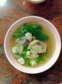Vegetable gourd soup
