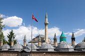 Mevlana museum in Konya Turkey  poster