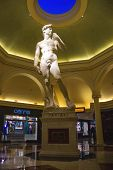 Statue In Caesar's Palace In Las Vegas