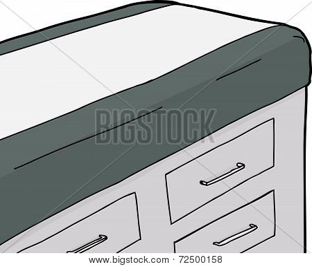 Isolated Examination Table