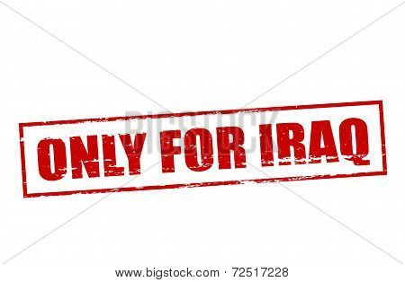 Only For Iraq