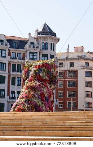 BILBAO, SPAIN - SEPT 3 2014 : Jeff Koon's