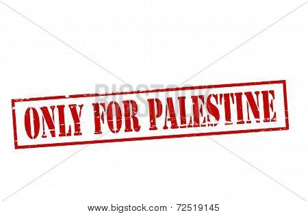 Only For Palestine
