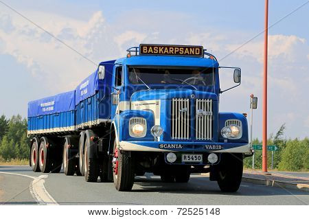 Scania Vabis L76 Vintage Show Truck