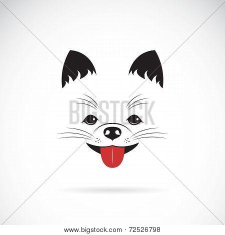 Vector Image Of An Pomeranian Dog